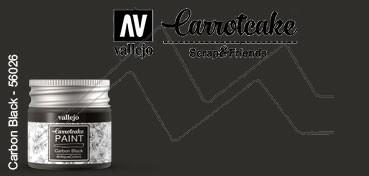 VALLEJO CARROTCAKE PINTURA PARA SCRAPBOOKING CARBON BLACK Nº 425