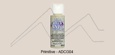 AMERICANA CHALKY FINISH FOR GLASS - PINTURA CHALKY PARA CRISTAL PRIMITIVE (LINO) ADCG-04