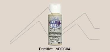 AMERICANA CHALKY FINISH FOR GLASS - PINTURA CHALKY PARA CRISTAL PRIMITIVE (LINO) ADCG-04