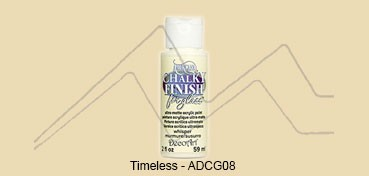 AMERICANA CHALKY FINISH FOR GLASS - PINTURA CHALKY PARA CRISTAL TIMELESS (BEIGE) ADCG-08
