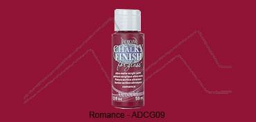AMERICANA CHALKY FINISH FOR GLASS - PINTURA CHALKY PARA CRISTAL ROMANCE (VINO) ADCG-09