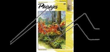 LIBROS DE TECNICAS ARTÍSTICAS LEONARDO Nº 15 PAISAJES