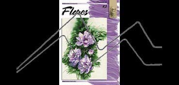 LIBROS DE TECNICAS ARTÍSTICAS LEONARDO Nº 23 FLORES