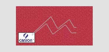 CANSON MI-TEINTES CARTULINA 160 G - ROJO VIVO (Nº 505)