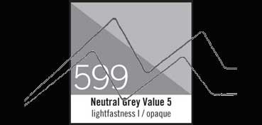 LIQUITEX TINTA ACRÍLICA GRIS NEUTRO Nº  5 (OPACO) (NEUTRAL GRAY VALUE 5 ) Nº 599