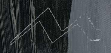 WINSOR & NEWTON ÓLEO GRIFFIN NEGRO HUMO (LAMP BLACK) SERIE 1 Nº 337