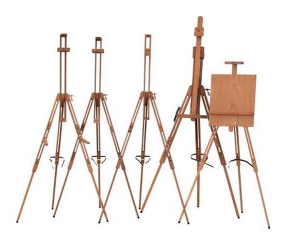 Como elegir un caballete para pintura art stica - Caballetes de madera ...