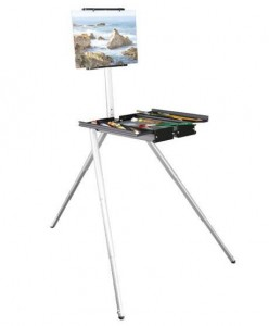 Soltek Pro Easel, caja caballete aluminio