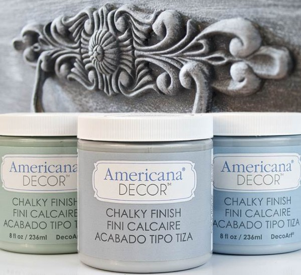 CHALK PAINT - Pintura efecto tiza America Decor Chalky finish ...