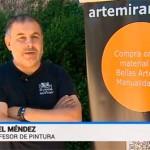 Acuarelistas de varios países pintan Toledo con el patrocinio de Artemiranda