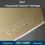 Test Canson Héritage