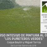Curso intensivo de pintura al óleo «Los puñeteros verdes» por Coque Bayón y Miguel Torrús