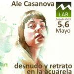 """ArtemirandaLAB: Curso Intensivo de acuarela """"Desnudo y retrato en la acuarela"""" por Ale Casanova"""