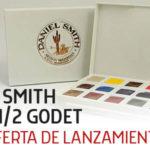 CAJAS DE VIAJE DE ACUARELA DANIEL SMITH RELLENADAS A MANO