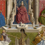 LA FUENTE DE GRACIA (1430-1440). Restauración. Museo del Prado.