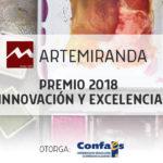 PREMIO CECALE A LA INNOVACIÓN Y LA EXCELENCIA 2018 A ARTEMIRANDA.