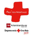 ARTEMIRANDA EMPRESA COLABORADORA DE CRUZ ROJA