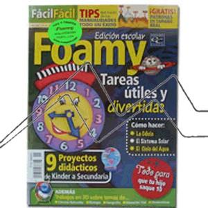 REVISTA FOAMY, FIGURAS INCREIBLES EN 3D Nº 1