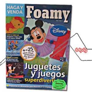 REVISTA FOAMY, JUEGOS Y JUGUETES Nº1.2