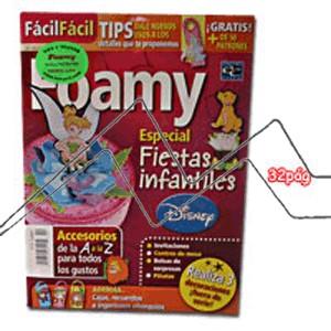 REVISTA FOAMY, ESPECIAL FIESTAS INFANTILES Nº4