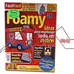 REVISTA FOAMY, IDEAS PARA MANTENER TODO EN ORDEN Nº5