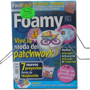REVISTA FOAMY, VIVE LA MODA DEL PATCHWORK Nº 7