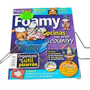 REVISTAS FOAMY, COCINAS CON ESTILO COUNTRY Nº 8