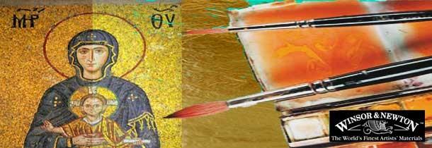 Pinceles WINSOR & NEWTON Dorado/Restauración