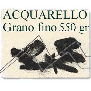 PAPEL ACQUARELLO ITALIA Grano fino 550 gr