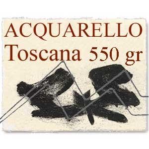 PAPEL ACQUARELLO TOSCANA Grano grueso 550 gr