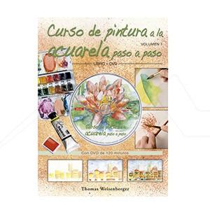 CURSO DE PINTURA A LA ACUARELA + DVD