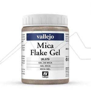 MICA GEL ACRÍLICO VALLEJO – MICA FLAKE GEL