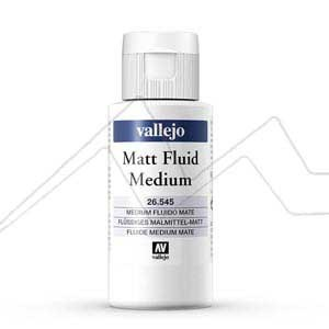 VALLEJO MÉDIUM FLUIDO MATE - MATT FLUID MEDIUM Nº 545