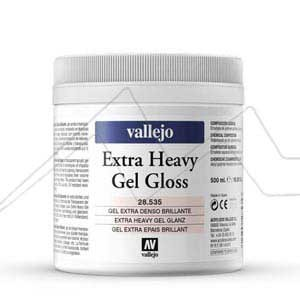 VALLEJO GEL EXTRA DENSO BRILLANTE - EXTRA HEAVY GEL GLOSS Nº 535