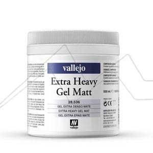 VALLEJO GEL EXTRA DENSO MATE - EXTRA HEAVY GEL MATT Nº 536