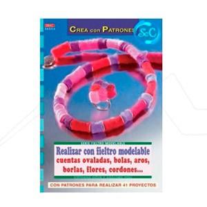 REALIZAR CON FIELTRO MODELABLE: CUENTAS OVALADAS, BOLAS, AROS...