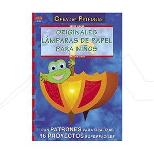 ORIGINALES LÁMPARAS DE PAPEL PARA NIÑOS
