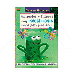 ANIMALES Y FIGURAS CON ESCOBILLONES, CUENTAS, FIELTRO, PAPEL...