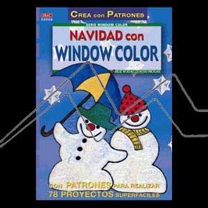 NAVIDAD CON WINDOW COLOR