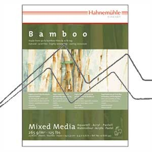 PAPEL HAHNEMÜHLE BAMBOO MIX MEDIA 265 G