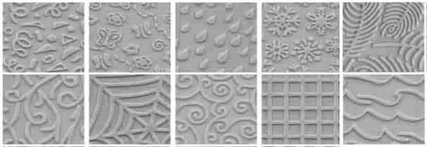 Texturas modelado