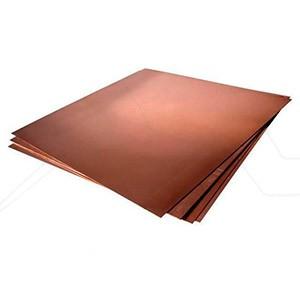Planchas de cobre pulidas para grabado