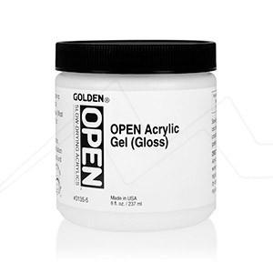 GOLDEN OPEN ACRYLIC GEL - medium gel acrílico