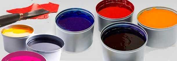 Tintas industriales