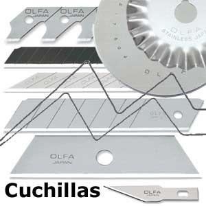CUCHILLAS OLFA - RECAMBIOS DE HOJA PARA CUTTER OLFA