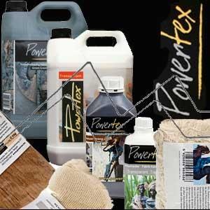 POWERTEX: Resina endurecedora para material poroso