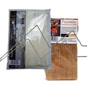 POWERTEX PAPERDECORATION: Corteza natural para crear texturas