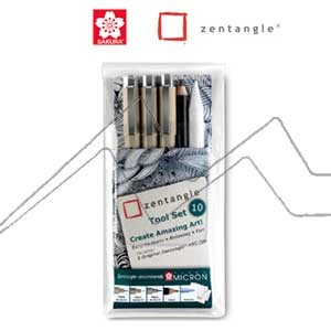 ZENTANGLE TOOL SET 10 PIEZAS