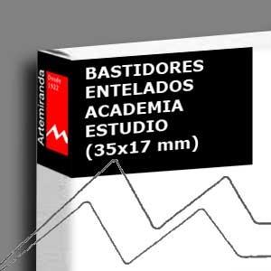 ARTEMIRANDA BASTIDOR ACADEMIA ESTUDIO (35X17 MM) ALGODÓN - IMPRIMACIÓN ÓLEO/ACRÍLICO