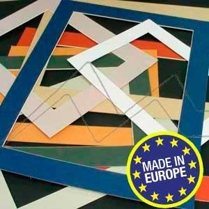 CARTÓN PARA PASSE-PARTOUT 1,2 MM ALMA COLOR CRUDO - Planchas de 60x80 cm